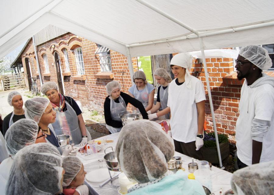 Käseschule beim Alten Pfarrhof Elemenhorst